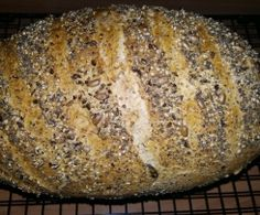 Fitness wholemeal bread super juicy & saulecker / recipe of the day from Easy Baking Recipes, Cooking Recipes, Breakfast Basket, Healthy Snacks, Healthy Recipes, Pampered Chef, Recipe Of The Day, Pumpkin Recipes, Food And Drink