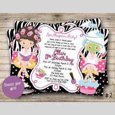 Have a spa-tastic bday party!