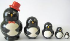 Penguins Russian Nesting Doll 5 Pcs / 3 in * Item # m2-pe... https://www.amazon.ca/dp/B008GPHBPI/ref=cm_sw_r_pi_dp_x_Qtx-xb2PY1VM6