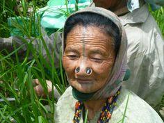 Apatani Woman, Ziro, India Photo credits : Lucas ROUSSEAU