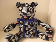 United States Air Force Themed Teddy Bear