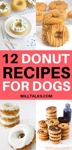 12 Amazing Donuts for Dogs Diy Dog Treats, Homemade Dog Treats, Dog Treat Recipes, Raw Food Recipes, Making Donuts, Apple And Peanut Butter, Animal Nutrition, Best Dog Food, Honey And Cinnamon