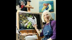 An oil painting demonstration in the style of Gary Jenkins. Oil on 18 x canvas using Winsor Newton Artist Oil and Rosemary and Co brushes. Gary Jenkins, Snowy Owl, Painting Videos, Oil, Canvas, Creative, Artist, Instagram, Tela