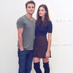 Paul Wesley and Phoebe Tonkin