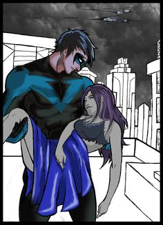Robin X Raven by ~LOLRavenLOL Please do not favorite this piece! Favorite the original deviation, by ~LOLRavenLOL To view the original deviation, please. Robin X Raven by LOLRavenLOL Teen Titans Love, Original Teen Titans, Teen Titans Fanart, Dragon Ball, Robin And Raven, Batman Love, Sisters Book, Teen Tv, Pokemon Cosplay