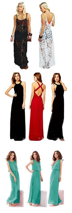 Like these elegant long skirts? They're perfect for when the evening gets cooler. Just throw on a cardi and you're good to go! 90% OFF. Check them out!