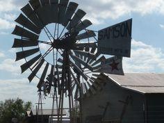 Windmills near  Charlotte Texas