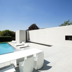 Poolhouse — Architect Steven Vandenborre