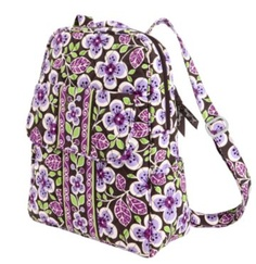 vera stuff, bradley backpack, backpacks, purs, sewing projects, accessori, vera backpack, vera bradley, plum