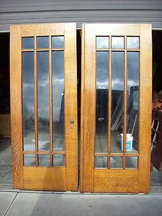 Pair of Antique Arched Top Oak Church Doors | Arch, Garden doors and ...