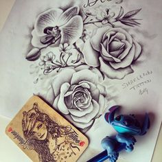 FACEBOOK : Sharlenn Tattoo INSTAGRAM : sharlenn_tattoo  PARIS  #tatouage #fleurs #art #dessin #sharlenntattoo #tattoo