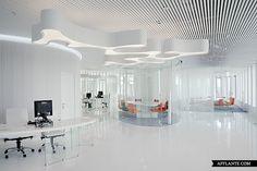 Office Interior in Business Complex 'White Square' // Mossine Partners