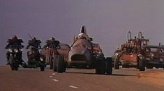 Mad Max 2 / The Road Warrior Vehicles - Lone Wolf Machine / Pappagallo
