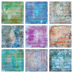 Peeled paint effect with the gelli plate and sellotape - based on a Gelli Arts video by Birgit Koopsen