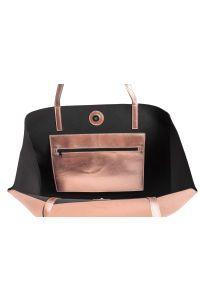 8e7e2271b7bb9 Spacious shopper in soft faux leather. Two handles