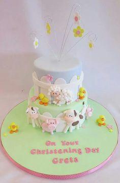 Cute Farm Cake.
