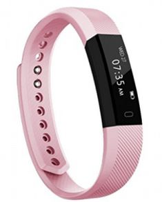 Fitness Tracker, Homogo Smart Band Activity Health Tracker with Slim Touch Screen for Step Distance Calories track, Sleep monitor, pedometer and more (Pink) - Online Shopping In Your Budget Best Fitness Watch, Best Fitness Tracker, Waterproof Fitness Tracker, Fitness Watches For Women, Best Watches For Men, Cool Watches, Cartier Panthere, Health Activities, Accessories
