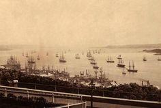 Saint Laurent, La Rive, Quebec, Paris Skyline, Images, Canada, Travel, Vintage, Antique Pictures