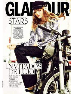 Jessica Chastain - Glamour (Spain) - December 2014