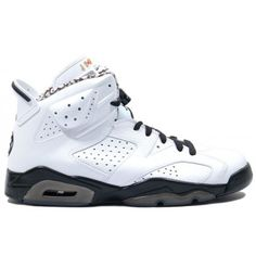 Air Jordan 6 Motorsports Mens Basketball Shoes White Black A06018 Price: $104.99 http://www.theblueretros.com/