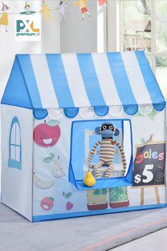 Deti sa radi hraju na skrývačku a tento stan im poskytuje skvelé miesto na skrytie alebo na hranie. Tento stan je skvelým doplnkom rôznych hier a dobrodružstiev, fantázii sa medze nekladú. #premiumXL Toy Chest, Storage Chest, Toddler Bed, Furniture, Home Decor, Child Bed, Decoration Home, Room Decor, Home Furnishings