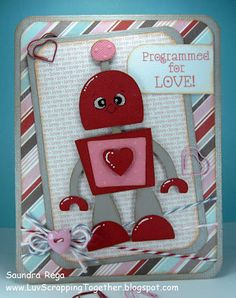 This card was made using PKSC-14 February 2012. You can find the details on my blog: http://luvscrappingtogether.blogspot.com/2013/02/programmed-for-love.html