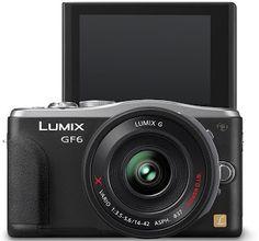 Panasonic Lumix GF6 Camera with WiFi and NFC