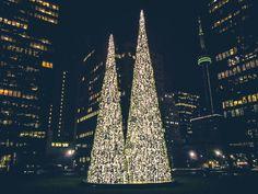 Holiday Tree, Christmas Holidays, Christmas Tree, Instagram Website, Skyscraper, New York Skyline, Centre, Trees, Facebook