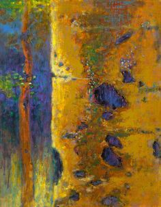 "Aspen Reverie | oil on linen | 18 x 14"" | 2014 Rick Stevens, Contemporary Abstract Art, Pastel Art, Oil Painting Abstract, Tree Art, Art Techniques, Sculpture, Illustration Art, Denver Travel"