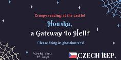 Mindful Voices of Europe: Houska, a Gateway to Hell? (Czech Republic) The czech short story of our book. Learn more on www.mivoceu.eu