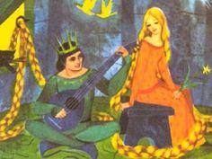 Illustrated Rapunzel one of my favorite illustrators;  Gordon Laite