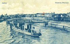 Imagini :: Galați – Vederea Portului Wwii, Ships, Painting, Art, Art Background, Boats, World War Ii, Painting Art, Kunst
