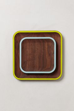 Walnut Plates, by David Rasmussen