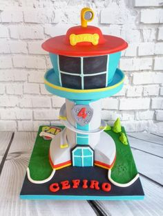 Paw Patrol tower - Cake by Hilz