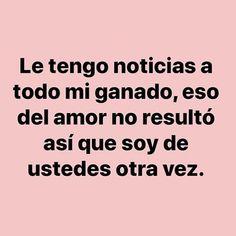 Funny Spanish Memes, Spanish Humor, Spanish Quotes, Sarcastic Quotes, True Quotes, Funny Quotes, Funny Memes, Positive Phrases, Pinterest Memes