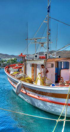 Merihas Harbour, Kythros, Greece