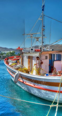Merihas Harbour, Kythros, Greece