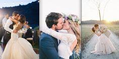 Les plus beaux baisers de cinéma des mariés !