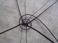 Výroba malého drátěného košíčku Insects
