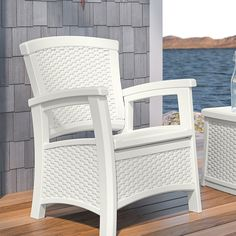 Discover the best indoor and outdoor wicker furniture for your patio. We have tons of outdoor wicker furniture sets including sofas, chairs, dining sets, and more. Find the most beautiful wicker material furniture for your home today. Resin Patio Chairs, Wicker Patio Chairs, Outdoor Wicker Furniture, Patio Furniture Sets, Outdoor Chairs, Patio Loveseat, Chair Cushions, Sofa, Patio Storage