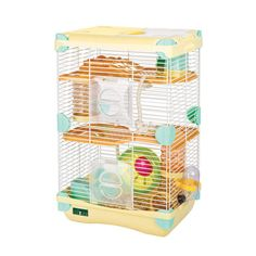 COMBO Alice adventureland hamster cage fun platform(S.Double Deck)+Mineral Stone