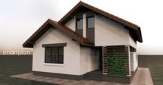 small house with 154 square meters