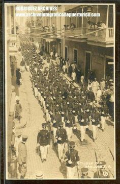Independence Day Parade - San Juan, PR 04JUL1910 #PuertoRicoUSA