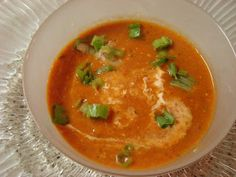 My Favorite Recipes Collection: Roasted Red Pepper /Tomato Bisque with Smoked Gouda Cheese