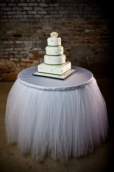 Custom Wedding Cake Table   Love The Toile. I Made This For My Daughters Wedding  Cake Table. She Had Cake Pops! Put Twinkle Lights Under It For A Great ...