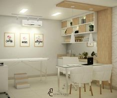 Massage Room Decor, Spa Room Decor, Waiting Room Design, Doctors Office Decor, Modern Home Offices, Spa Treatment Room, Clinic Interior Design, Esthetician Room, Medical Office Design