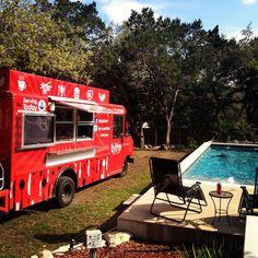 Food Truck Pool Party Ideas #bitestreetbistro summer party San Antonio Texas