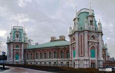 Big palace,Tsaritsyno ,Moscow