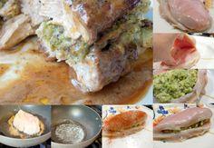 Brocolli and cheese stuffed chicken breast