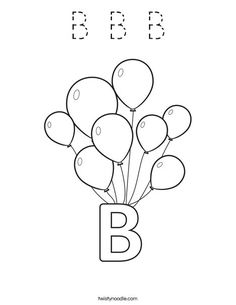 Where could B be Everywhere you look youre bound to find B Go on a B hunt looking for things that begin with the letter B bananas bikes balls balloons